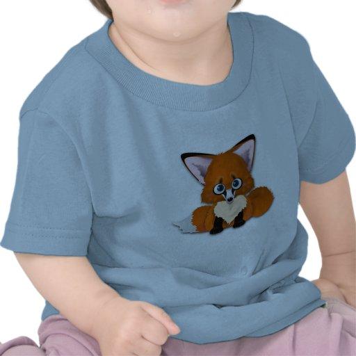 Cute Baby Fox Tee Shirt