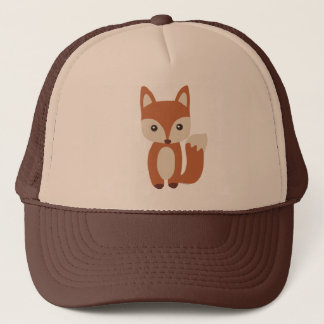 Cute Baby Fox Trucker Hat