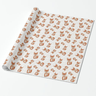 Cute Baby Fox Wrapping Paper