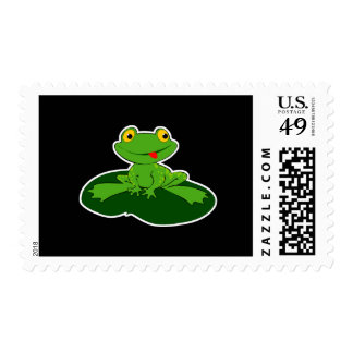 cute baby frog postage