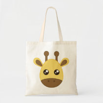 Cute Baby Giraffe Tote Bag