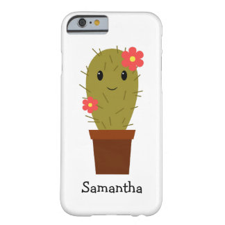 Cute baby girl cactus barely there iPhone 6 case