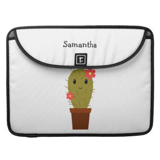 Cute baby girl cactus sleeve for MacBook pro