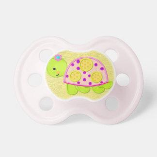 Cute Baby Girl Turtle Pacifier