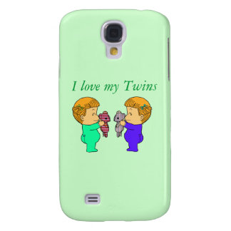 Cute baby Girl twins Samsung S4 Case
