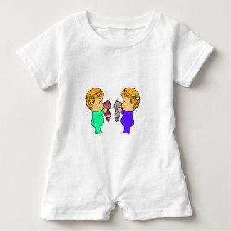 Cute baby Girl twins Tee Shirt