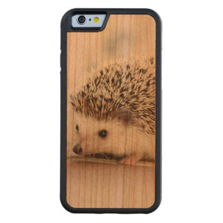 Cute Baby Hedgehog Carved® Cherry iPhone 6 Bumper