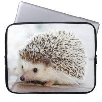 Cute Baby Hedgehog Laptop Sleeve