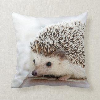 Cute Baby Hedgehog Throw Pillow