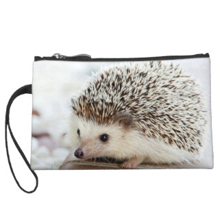 Cute Baby Hedgehog Wristlet Clutches