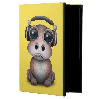 Cute Baby Hippo Dj Wearing Headphones Powis iPad Air 2 Case
