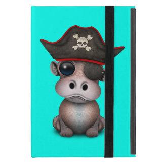 Cute Baby Hippo Pirate Cover For iPad Mini