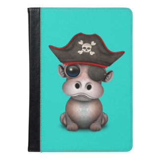 Cute Baby Hippo Pirate iPad Air Case