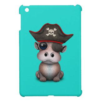 Cute Baby Hippo Pirate iPad Mini Covers