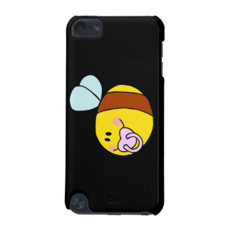 cute baby honey bee with pacifier cartoon iPod touch (5th generation) cases