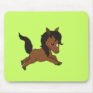 Cute baby Horse Mouse Pad