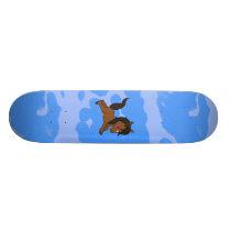 Cute baby Horse Skateboard Deck