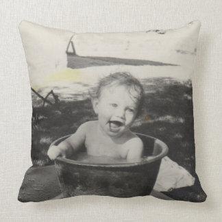 Cute Bath Pillow : Black Baby Pillows - Decorative & Throw Pillows Zazzle