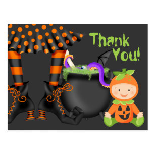 Halloween Thank You Cards | Zazzle