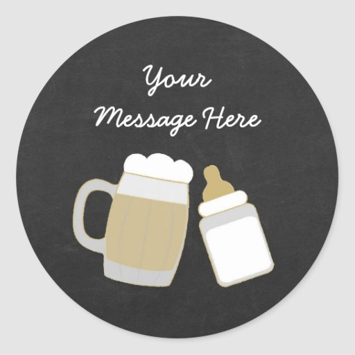 Cute Baby Is Brewing Stickers