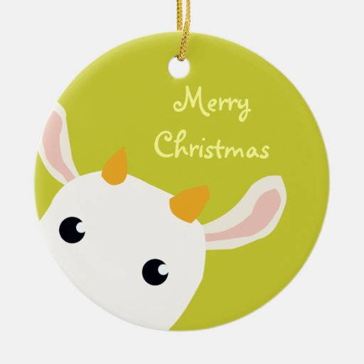 Cute Baby Kid Christmas Ornament