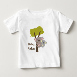 Cute Baby Koala Bear and Mommy For Babies Baby T-Shirt