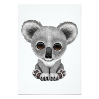Cute Baby Koala Bear Cub Card