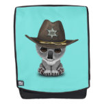 Cute Baby Koala Bear Sheriff Backpack