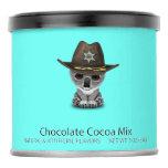 Cute Baby Koala Bear Sheriff Hot Chocolate Drink Mix