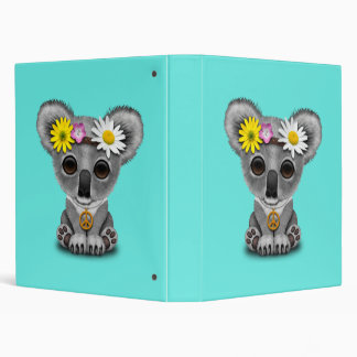 Cute Baby Koala Hippie Binder