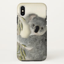 Cute Baby Koala iPhone X Case