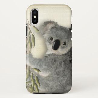 Cute Baby Koala iPhone X Case
