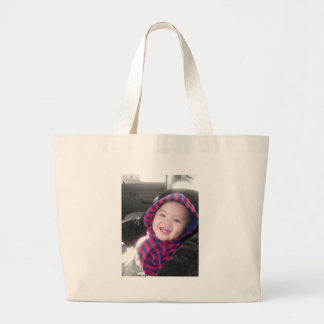 Cute Baby Large Tote Bag