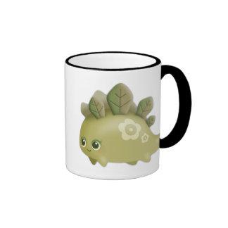 Cute Baby Leafy Dino - kawaii style mug