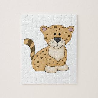 Cute Baby Leopard Jigsaw Puzzle