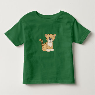 Cute Baby Leopard Toddler T-shirt