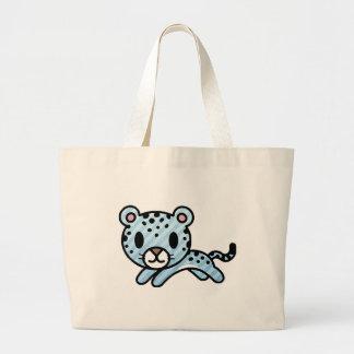 Cute baby lepoard! jumbo tote bag
