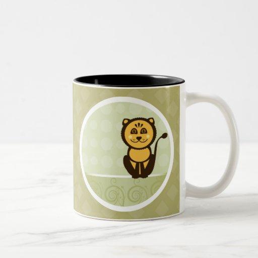 Cute Baby Lion Coffee Mugs Zazzle