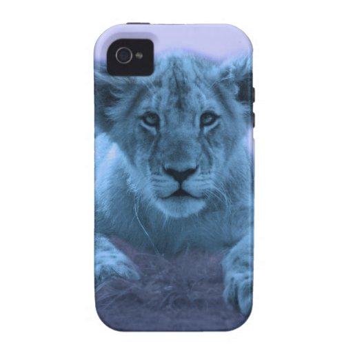 Cute baby lion cub Case-Mate iPhone 4 case