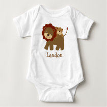 Cute Baby Lion Personalized Baby T-Shirt