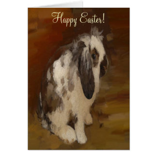 Cute, Baby Lop Eared Rabbit Card
