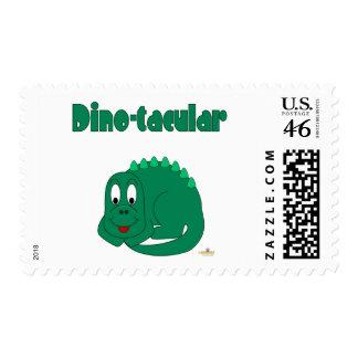 Cute Baby Lt Green Dinosaur Dino-tacular Stamp