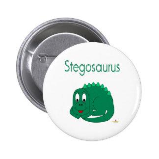 Cute Baby Lt Green Dinosaur Stegosaurus Pins