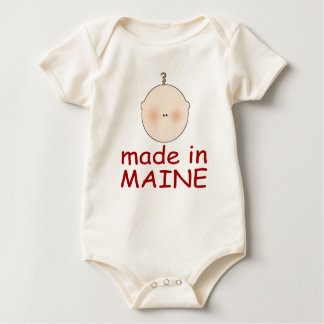 Cute Baby Made In Maine infant Baby Bodysuit