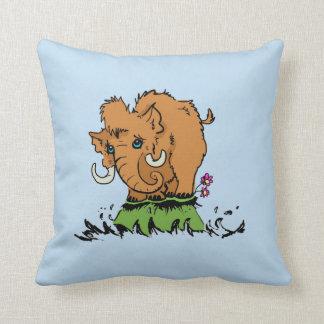 Cute Baby Mammoth Cushion Pillow