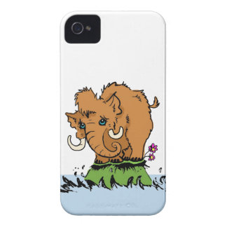 Cute Baby Mammoth iPhone Case