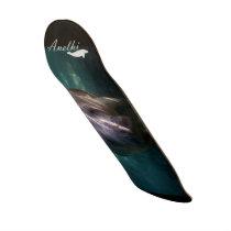 Cute baby manatee scateboard skateboard