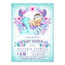Cute Baby Shower Invitations Announcements Zazzle