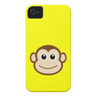 Cute Baby Monkey Face iPhone 4 Cover
