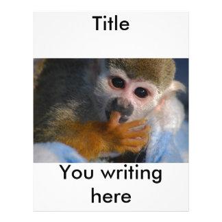 Cute Baby Monkey  Rescued Flyer